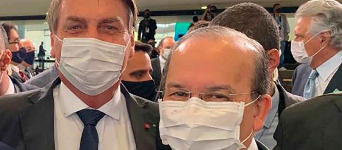 O senador catarinense Jorginho Mello (PL) foi homenageado pelo presidente Jair Bolsonaro (sem partido) pelo dia do soldado/Foto: Assessoria
