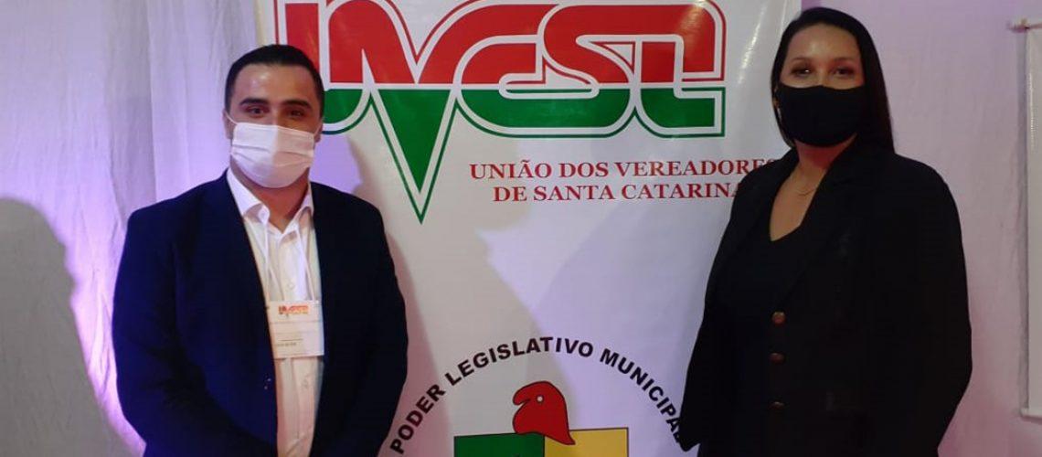 Disnéia está no segundo mandato como vereadora e já presidiu à Casa Legislativa