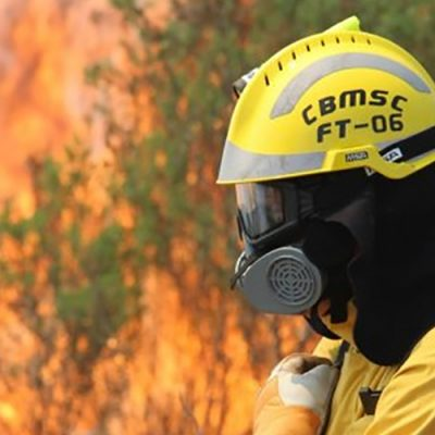 22 bombeiros militares de diversas regiões catarinenses foram acionados/Foto: Arquivo/ CBMSC