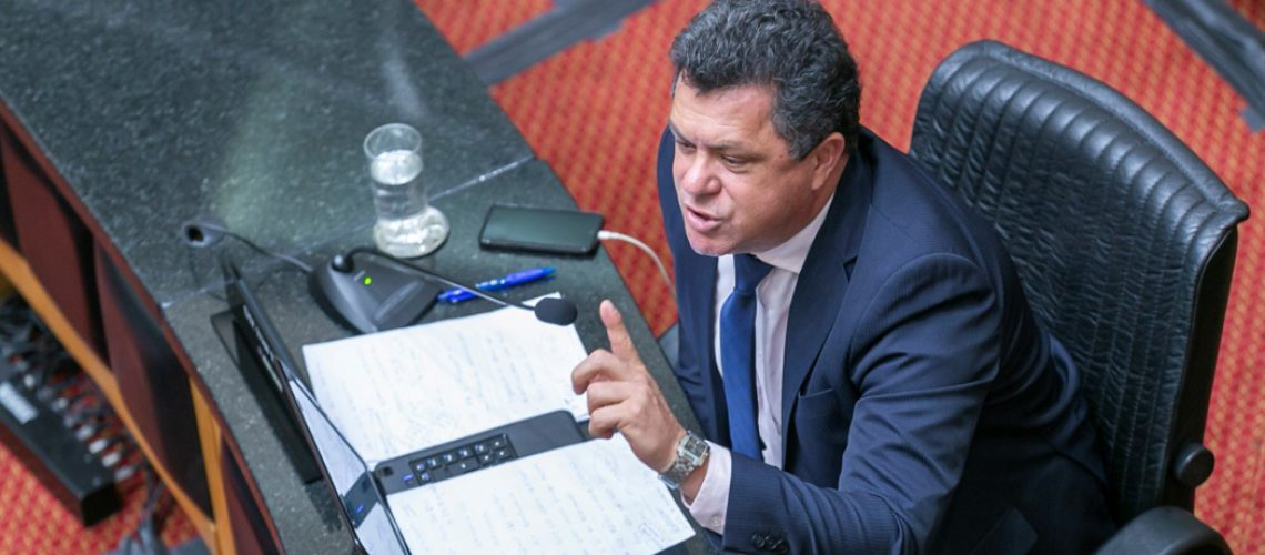 Deputado Ivan Naatz, líder da bancada do PL na Ales/Foto: Rodrigo Collaço – Alesc