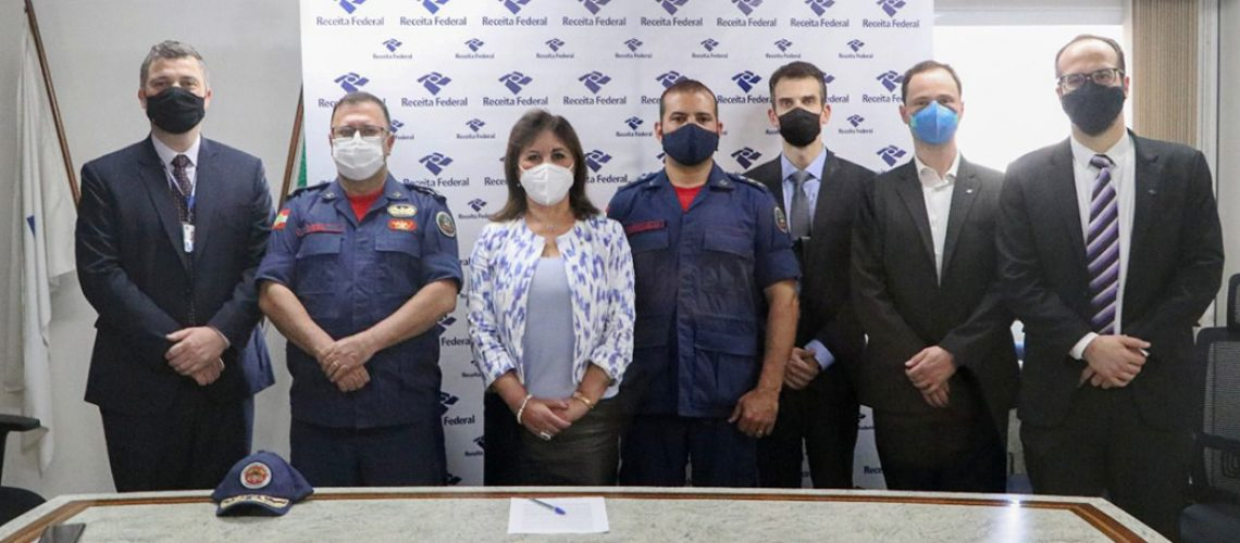 O convênio foi articulado pela Delegacia da Receita Federal em Joaçaba, mas terá abrangência para todas as unidades do órgão nos estados do Paraná e Santa Catarina