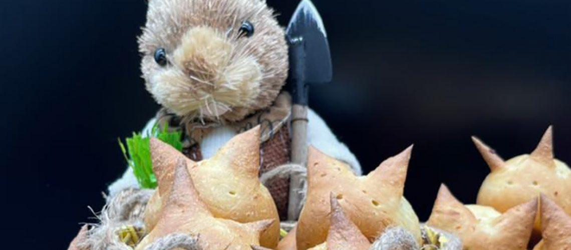 Pães doces em formatos de coelhinhos, uma receita especial para a Páscoa