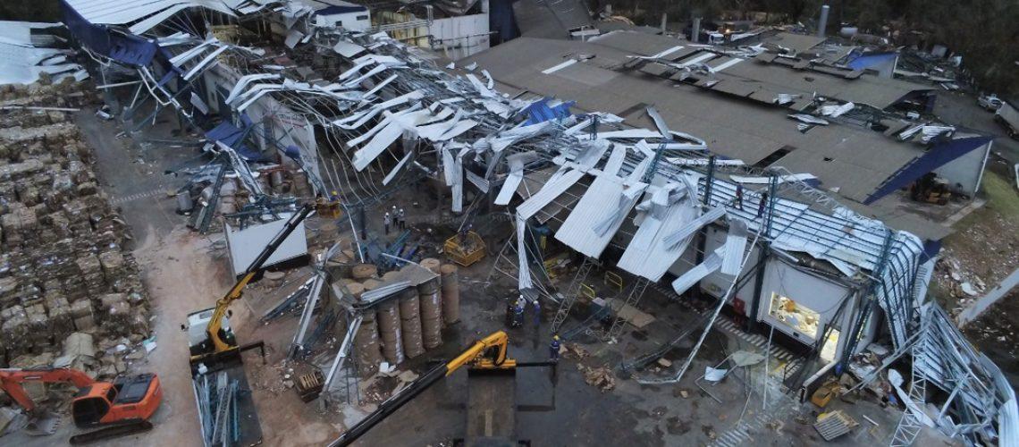 Eventos climáticos causaram prejuízos a 26 municípios do Meio Oeste catarinense. Foto: Flavio Vieira Junior/DCSC