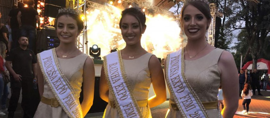 Realeza da Expo Femi 2020/Foto: Divulgação Internet
