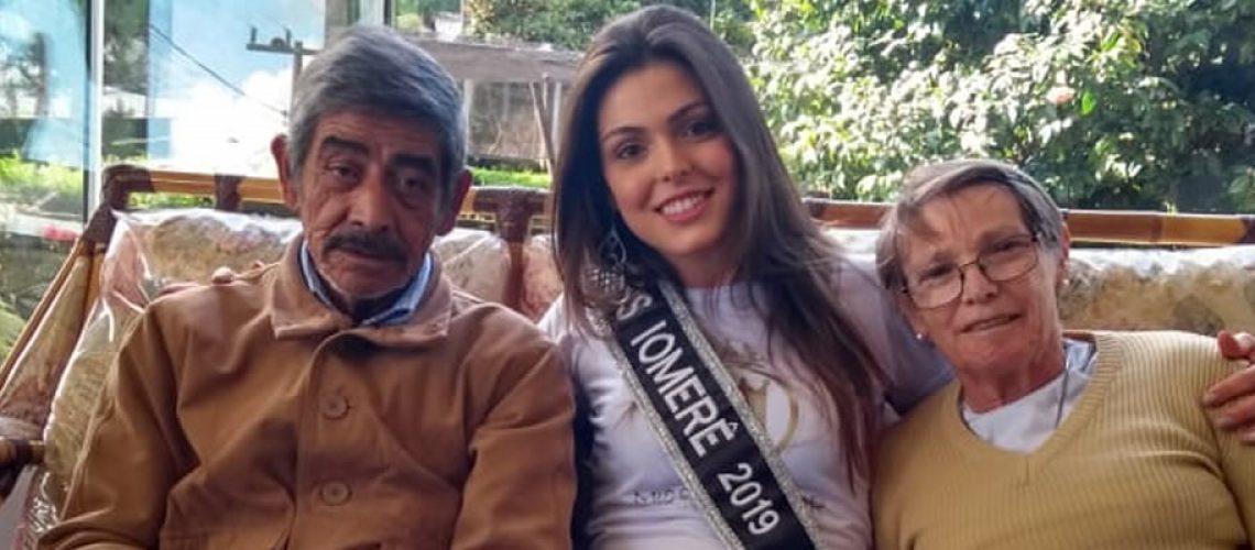 Kassiane Pelle concorrerá ao título de mulher mais bonita de Santa Catarina