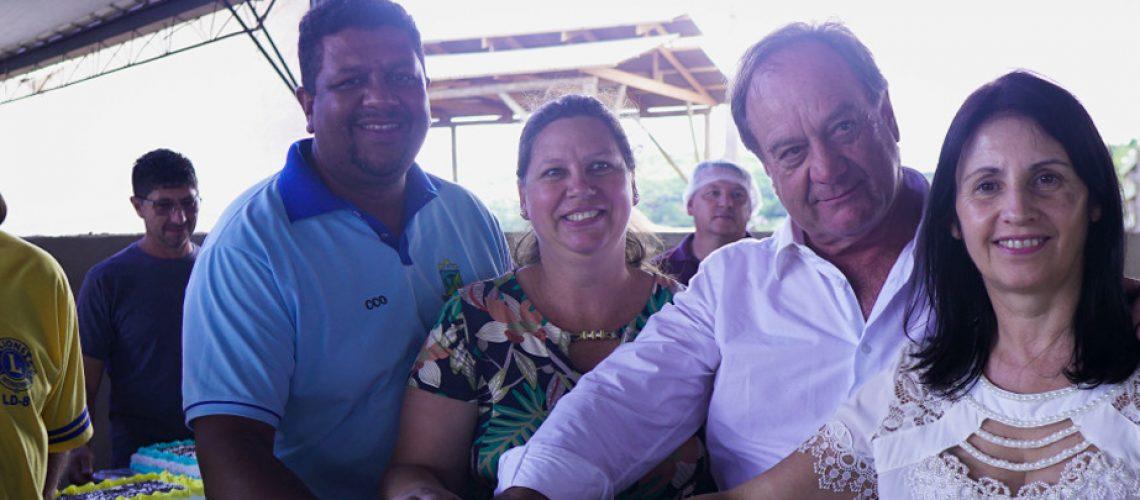 Uma grande festa deu início no domingo às comemorações dos 24 anos do município de Zortéa/Foto: Assessoria de Imprensa