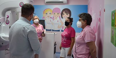 As representantes da RFCC agradeceram a parceria de longa data com o hospital