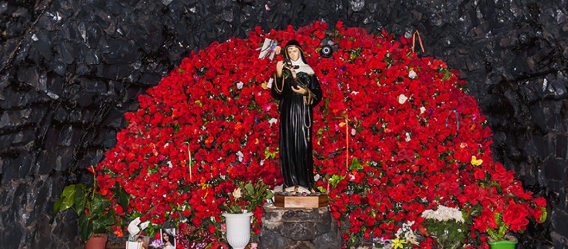 Gruta do Santuário de Lunardelli