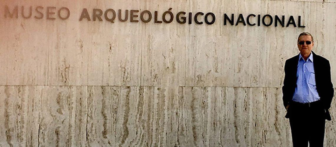 Entrada do Museu arqueológico de Madrid/Foto: Assessoria de Imprensa