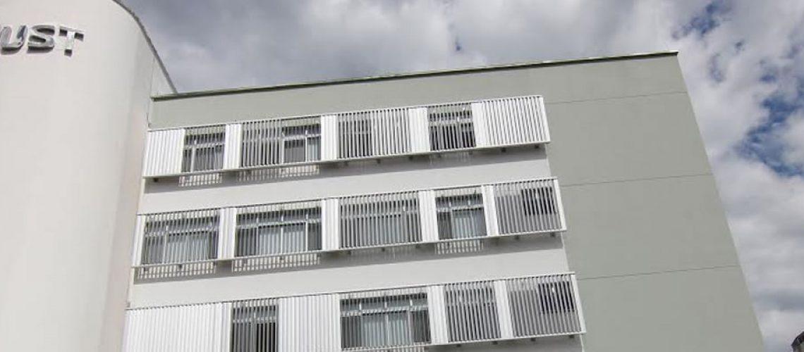 Fachada prédio Hospital Universitário Santa Terezinha/Foto: Assessorai de Imprensa
