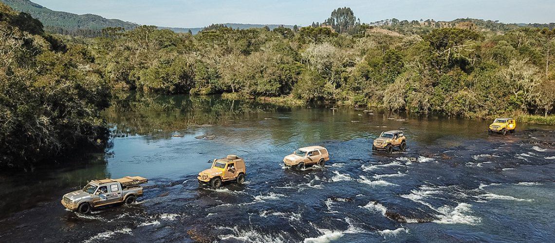 A Passeio Expedition terá travessias de rios, entre tantas outras atrações (Douglass Fagundes/DFOTOS)