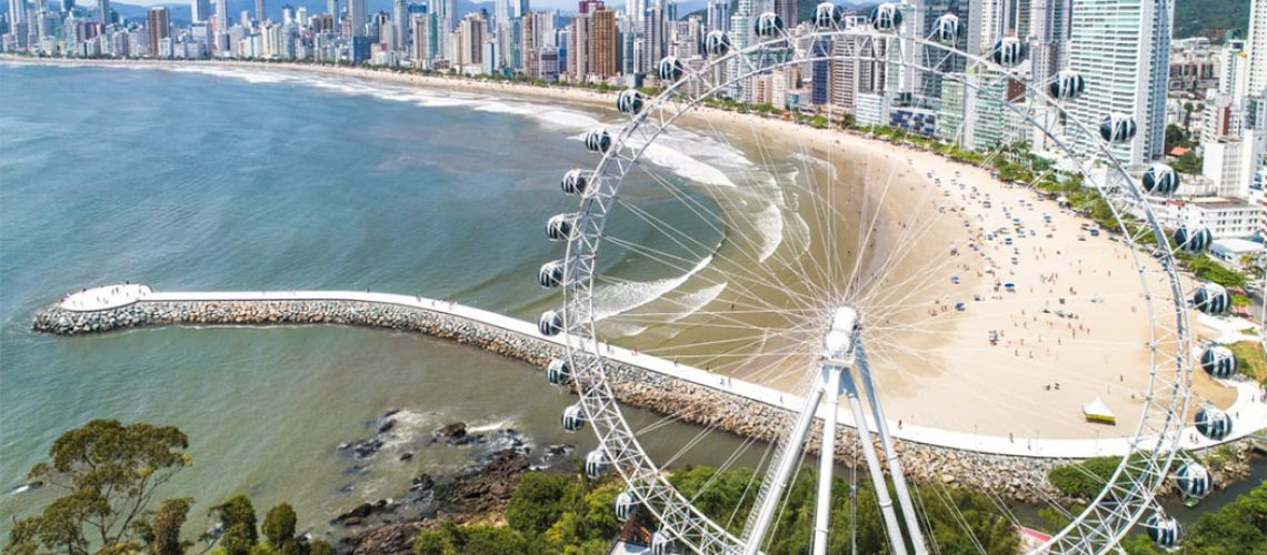 As 36 cabines vão ser abertas para proporcionar aos visitantes uma nova experiência a 82 metros acima do nível do mar/Foto: Internet