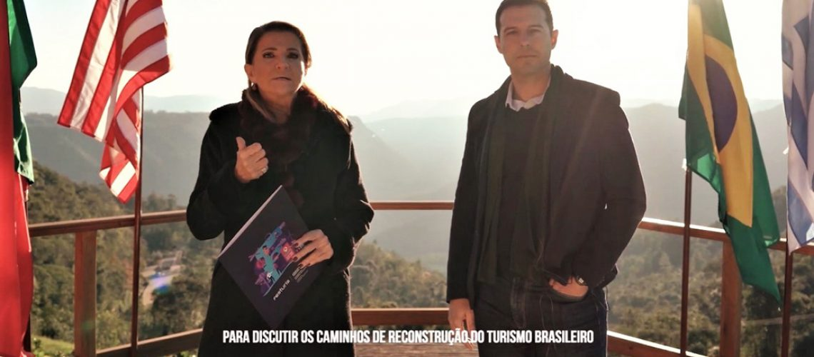Festuris Connection - Marta Rossi e Eduardo Zorzanello são os diretores do Festuris Connection/Foto: Divulgação