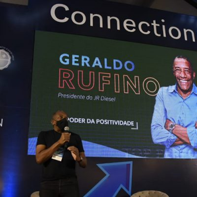 O empresário Geraldo Rufino falou sobre o Poder da Positividade e as lições que aprendeu durante a vida/Foto: Rafael Cavalli