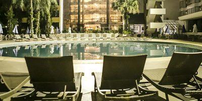 O Rafain Palace Hotel & Convention é um dos principais meios de hospedagem da cidade de Foz do Iguaçu
