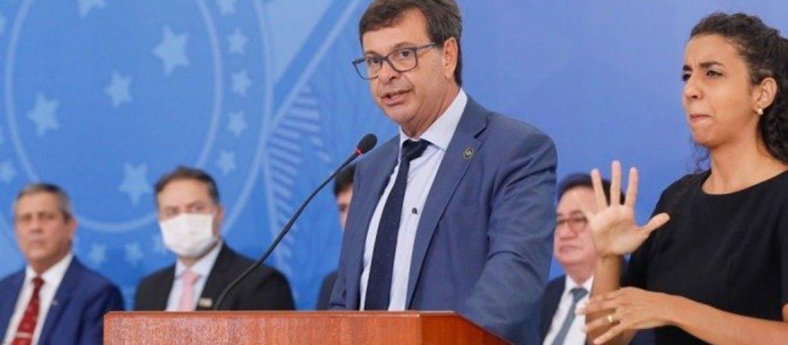 O ministro do Turismo, Gilson Machado Neto, tomou posse oficialmente nesta quinta-feira/Foto: Isac Nobrega/PR