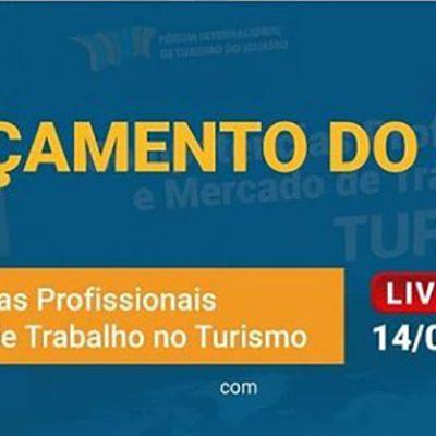 """O lançamento do livro """"Competências Profissionais e Mercado de Trabalho no Turismo"""" acontece ás 17h"""