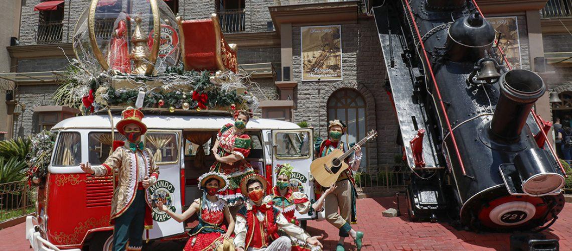 O Mundo a Vapor é pioneiro no entretenimento temático na cidade de Canela, na Serra Gaúcha/Foto: Cleiton Thiele