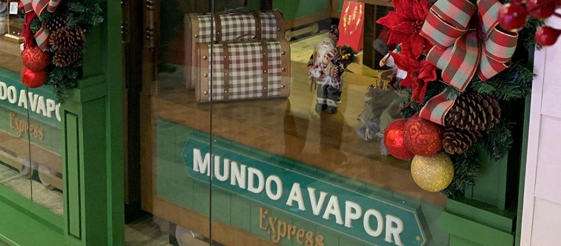 A loja vai comercializar miniaturas de diversos trens, souvenirs do Parque Mundo a Vapor
