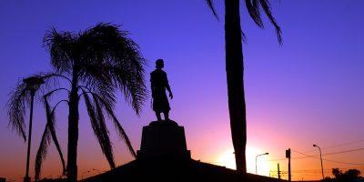 Estátua do Laçador Alfonso - Porto Alegre/RS