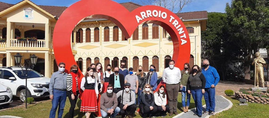 Arroio Trinta monstra seu potencial turístico