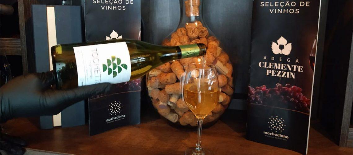 Tochetto Chardonnay é um vinho fino branco seco, elaborado 100% a partir de uvas selecionadas da variedade Chardonnay/Foto: Bom Dia SC