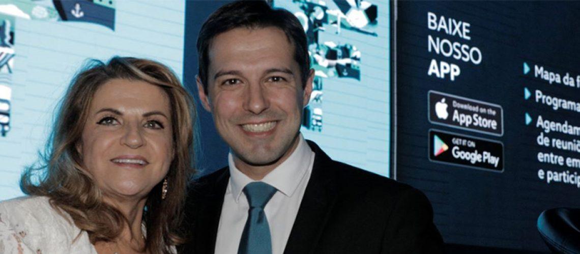 Marta Rossi e Eduardo Zorzanello CEOs do FESTURIS Gramado/Foto: Assessoria de Imprensa