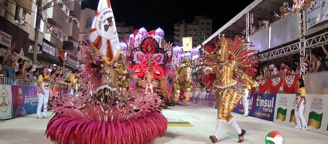 A agremiação, possui três títulos do Carnaval de Joaçaba/Foto: Bom Dia SC