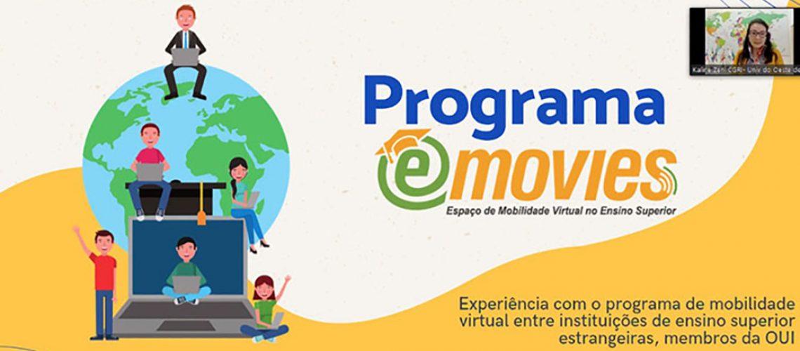 A mobilidade virtual foi aderida pela instituição como uma ferramenta alternativa aos modelos tradicionais