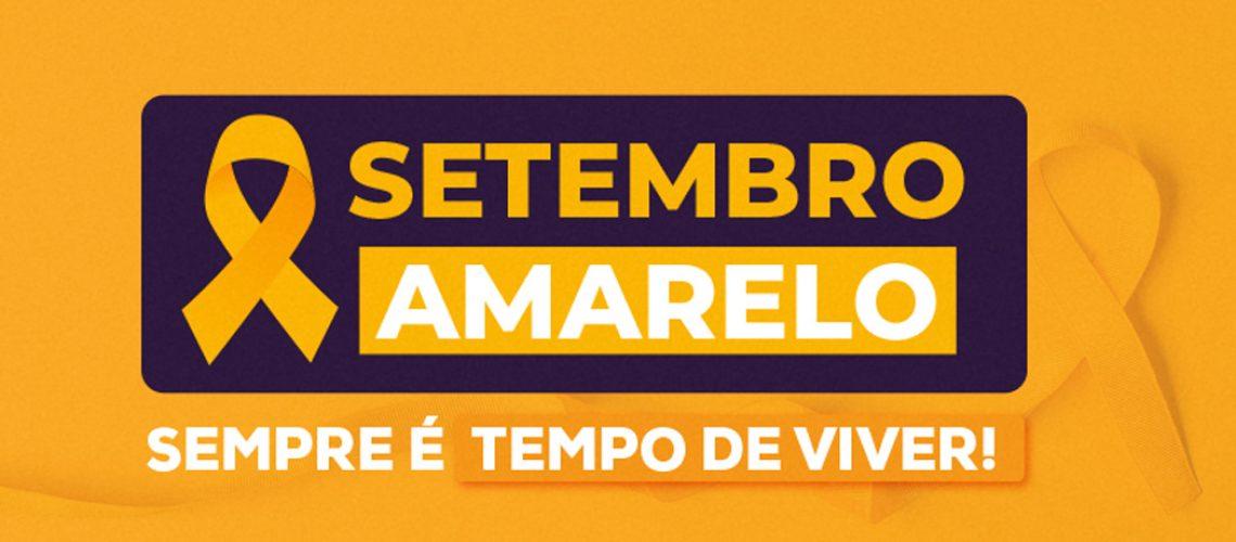Unoesc promove ações internas de prevenção ao suicídio em alusão ao Setembro Amarelo