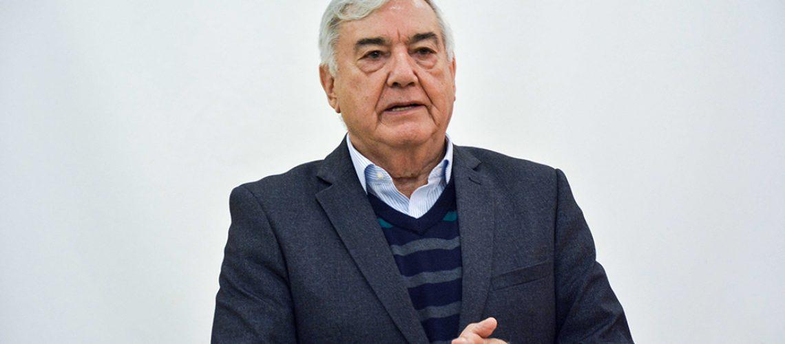 O presidente da Federação da Agricultura e Pecuária do Estado de Santa Catarina (FAESC), José Zeferino Pedrozo