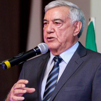 Presidente do Sistema Faesc/Senar-SC José Zeferino Pedrozo