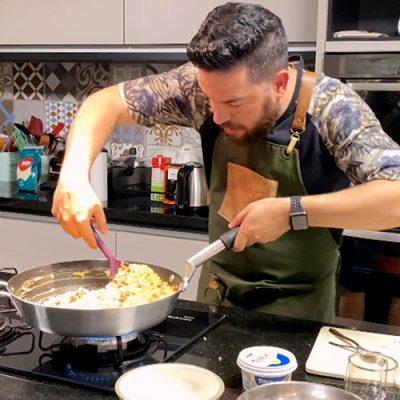 Pablo Calluans na Cozinha